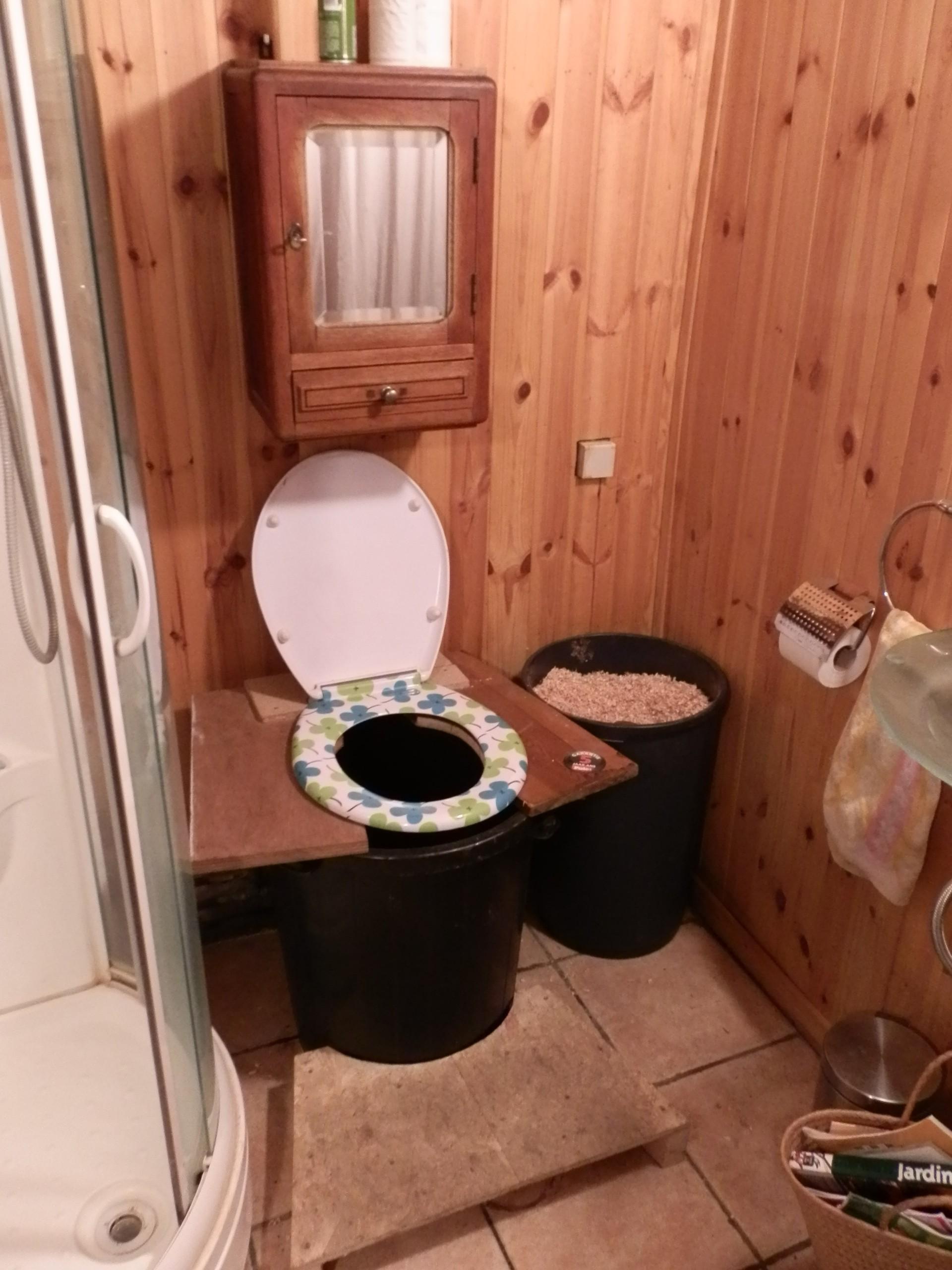 Toilette sèche powa !