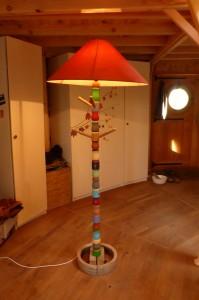 lampadaire récup